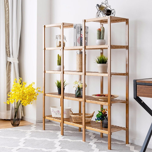 Home Again - Multifunctional Bamboo  Bookcase