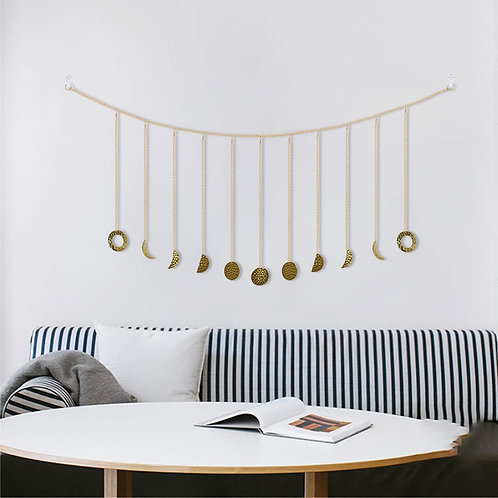 Moon Phases Wall Adornment