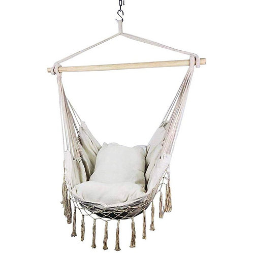 My Macrame Lounge Indoor/Outdoor Hammock Chair