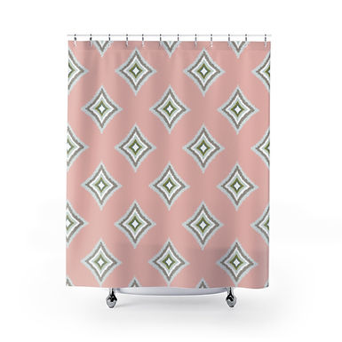 Desperado II by A. Talese - Shower Curtain