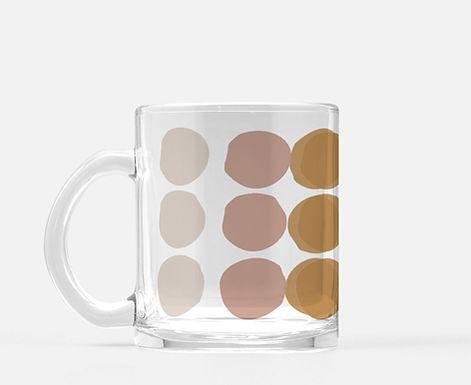 Set f 2 - A Spot Of Tea-Glass Mugs