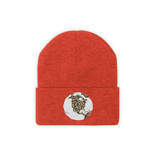 """World Wild"" by A.Talese Unisex Knit Beanie- available in 7 colors"