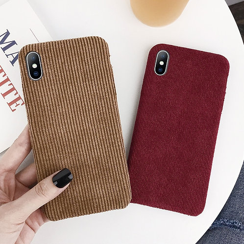 Call Me Maybe Corduroy Phone Case