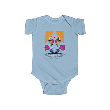 Wildflowers by A.Talese- Baby Bodysuit