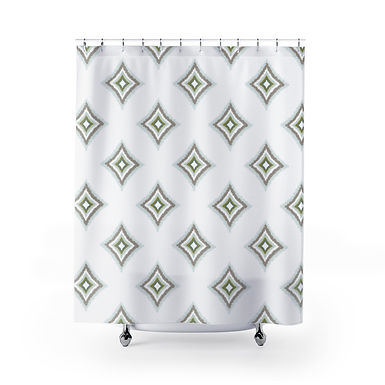 Desperado by A. Talese - Shower Curtains