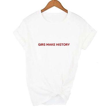 Girls Make History Tee