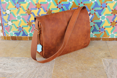 On SALE Paper Boy Leather Messenger Bag