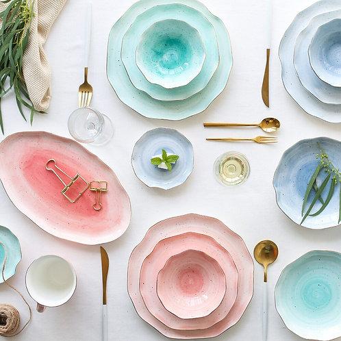 Scalloped Ceramic Serveware