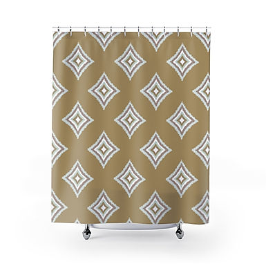 Desperado II by A. Talese - Shower Curtains