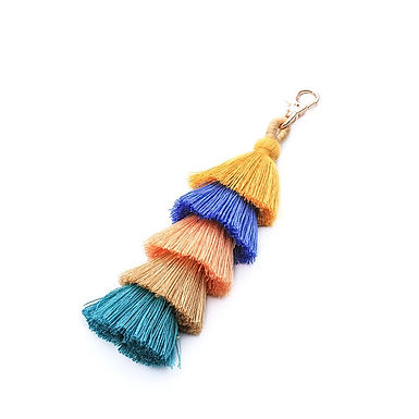 Tassled Bag Charm / Keychain