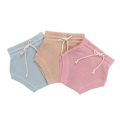 Unisex Knit Baby Bloomers