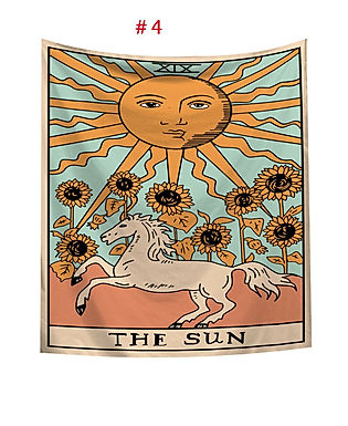 Gypsy Tarot Card Tapestries - Multiple Prints