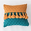 Thumbnail: Little Darling Tassle Throw Pillow Cover 18x18 in