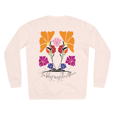 Wildflower by A. Talese - 85% Organic Cotton Pullover