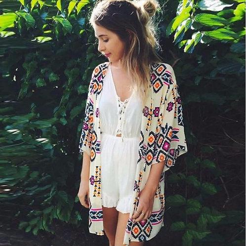 The Bandwagon Kimono