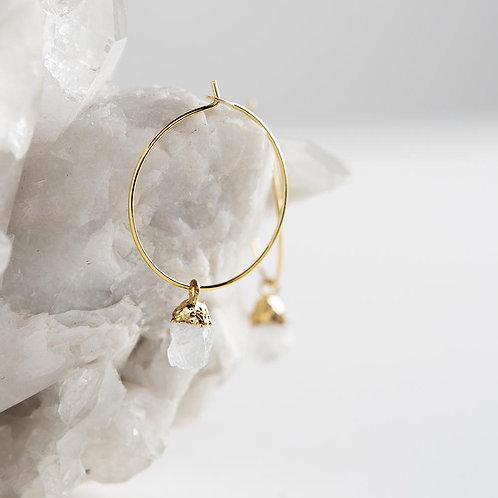 Bella Earrings-Moonstone