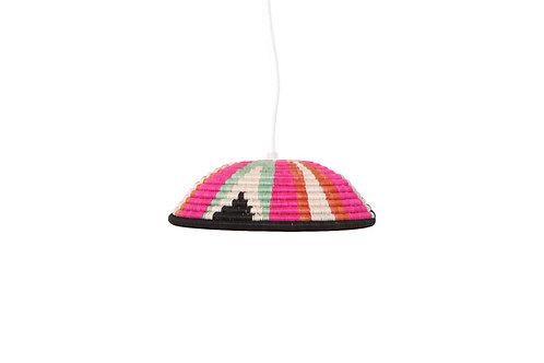 Vivid Viola Lamp Pendant - Medium