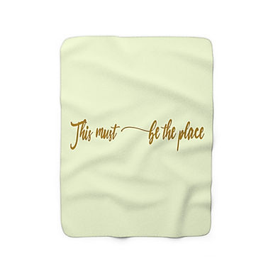 This Must Be The Place By A.Talese - Throw Blanket