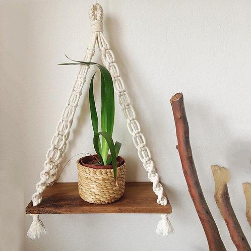 Knotty Gal Woven  Shelf