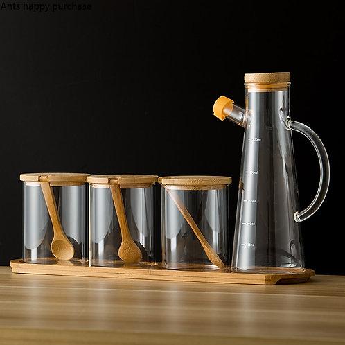 Spice Jars & Pourer Sets- Various Sets