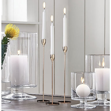 Golden Iron Candle Stick Holders