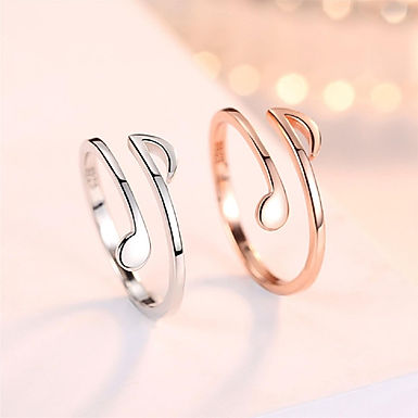 Musical Notes Ring