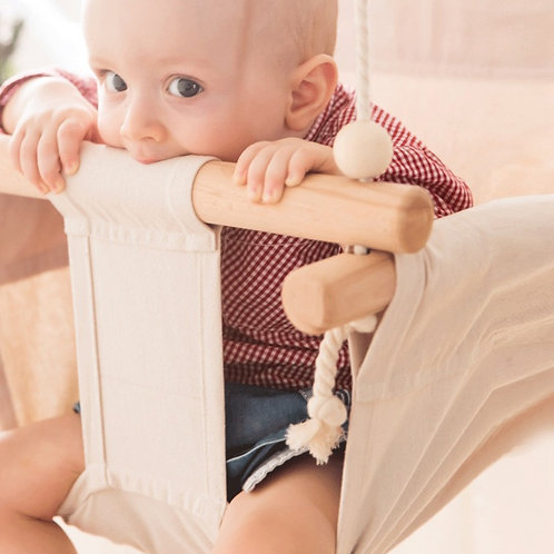 Canvas Baby Swing Chair
