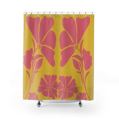 Wildflower by A. Talese - Shower Curtains