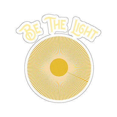 Be The Light - Stickers