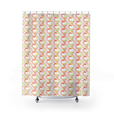Good Vibes by A. Talese - Shower Curtains