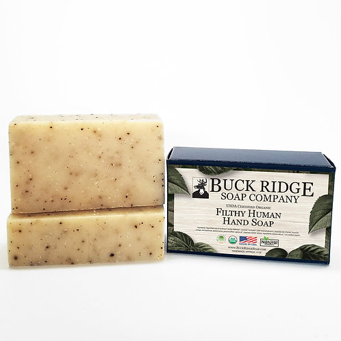 Filthy Human Handmade Soap - USDA Certified Organic