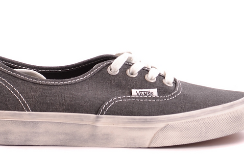 Distressed Slate Women's Vans