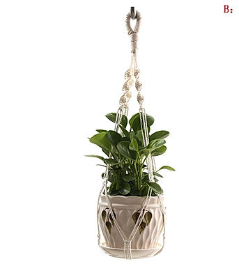 The Keys-  Vintage Macrame Flower Pot Hangers- Multiple Styles
