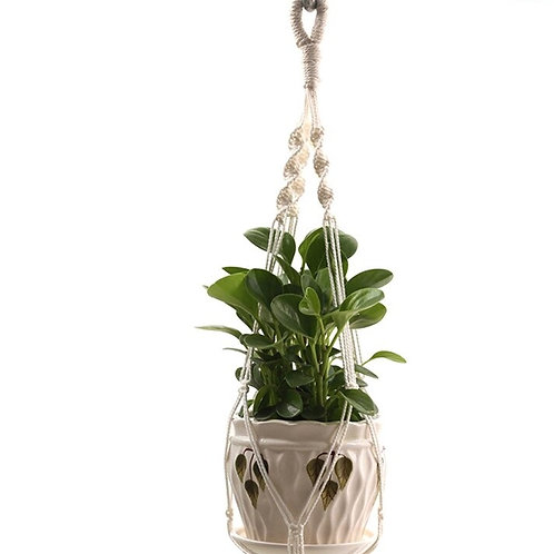 The Keys-  Vintage Macrame Flower Pot Hangers- Multiple Styles