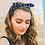 Thumbnail: Navy & White Grid Style Headband