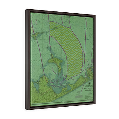 Montauk by A.Talese - Framed Gallery Wrap Print on Canvas