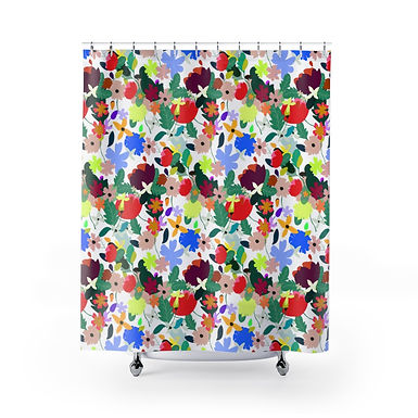 Frolic by A. Talese -Shower Curtain