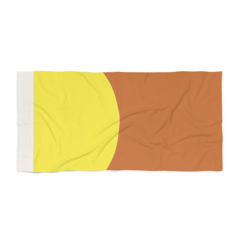 Sunburnt - Beach Towel