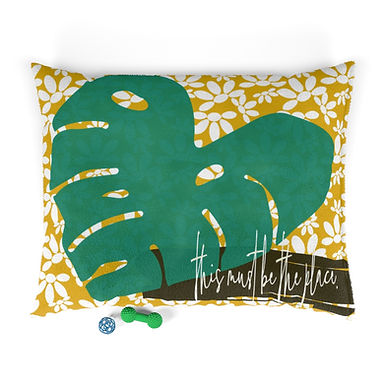 This Must Be The Place by A. Talese - Tropical Pet Bed