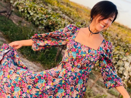 Pauline Dress by Closet Core Patterns & Tips for Sewing With Silk