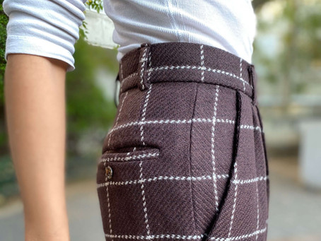 PATTERN REVIEW: Tatjana Trousers by Just Patterns + Pre-Treating Wool