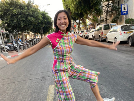 First Cheongsam Jumpsuit; First Blog As A Minerva Maker
