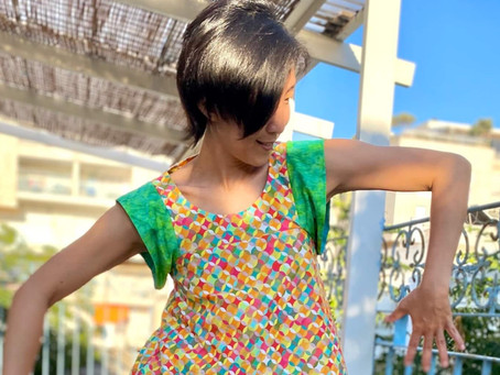 Celestial Maxi Dress by Pattern Fantastique