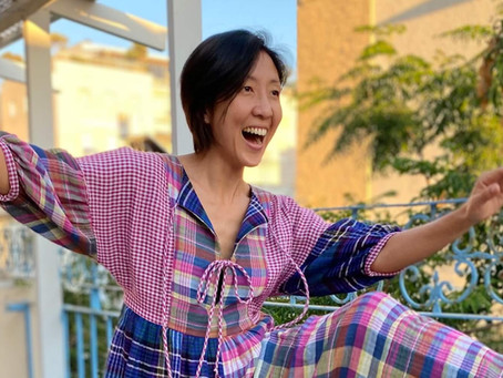 Guest Blog on Helen's Closet Patterns: Jumpsuit Hack of March Top/Dress