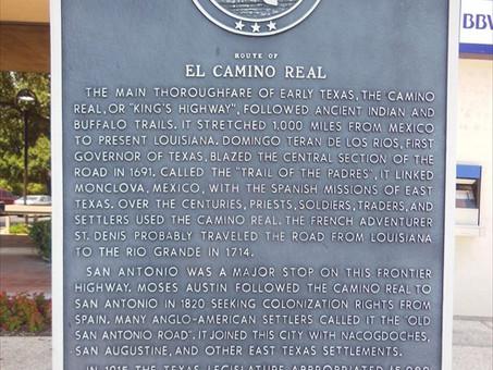 Inside410 Historical Marker Love - El Camino Real