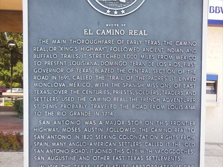 Inside410 Historical Marker Love - El Camino Real