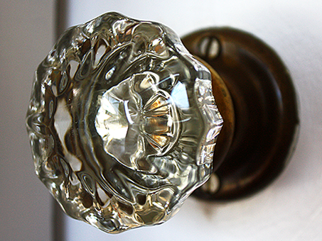 Details Matter: Glass Door Knobs