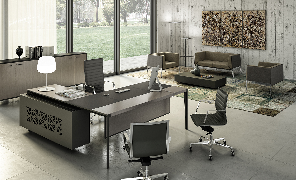 Quadrifoglio X9 Executive Desk