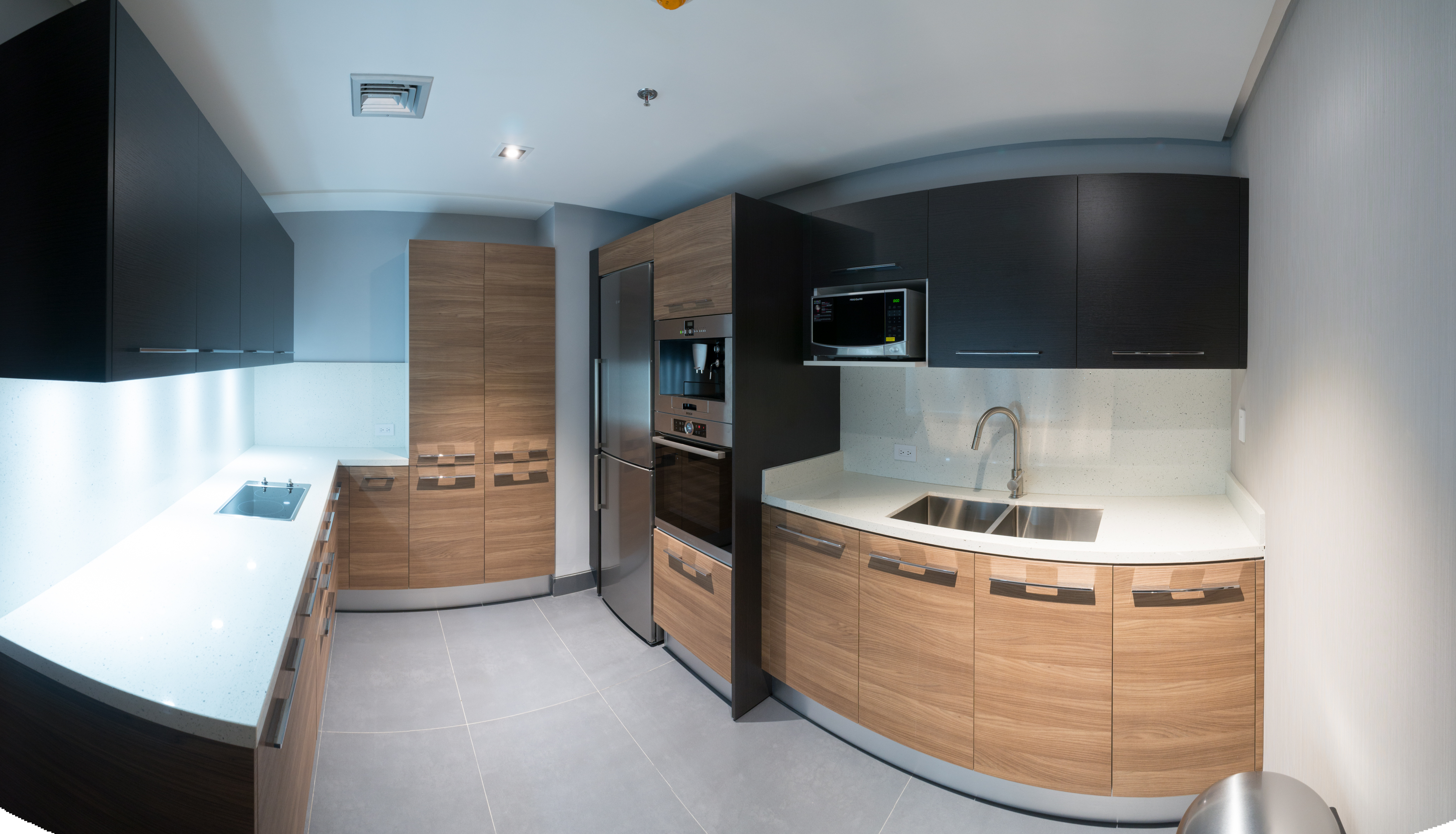 Kitchen for executive office space
