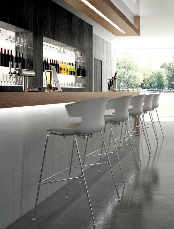 Bar Stool line for restaurants